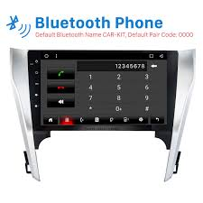 inch full touchscreen 2012 2013 toyota camry android 6 0 gps