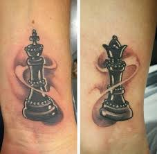 tattoo of queen and king 165 top king and queen tattoos for couples 2018 tattoosboygirl