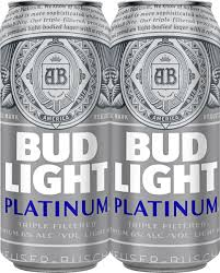 bud light platinum price bud light platinum beer 16 oz can walmart com