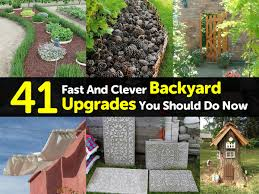 41 fast and clever backyard upgrades you should do now