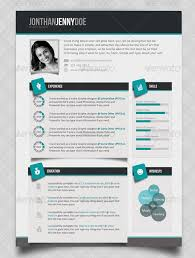 Best One Page Resume Template 20 Creative Infographic Resume Templates Web U0026 Graphic Design