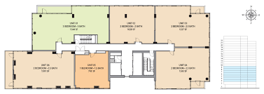 2 Bedroom Condo Floor Plan Floorplans One Riverside Condominiums