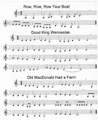 traditional thanksgiving hymns easy clarinet songs 1