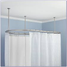 oval shower curtain rod bed bath and beyond curtain home