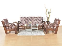 Sell Used Furniture In Bangalore Clematis Sheesham 5 Seater Sofa Set Buy And Sell Used Furniture