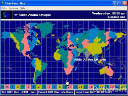 njyloolus time zones map world