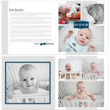 baby boy photo album baby boy 12 12 year album template momtog store