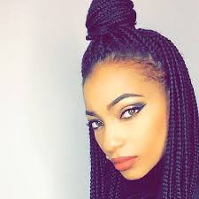 womens hairstyle the box style 65 box braids hairstyles for black women