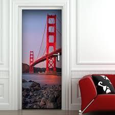 adesivi porta door covers adesivi porta adesivi murali wall stickers