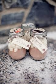 fall wedding favor ideas hot cocoa favors