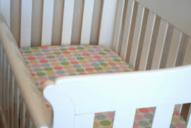 Mini Crib Sheet Tutorial by How To Make A Fitted Cot Sheet Dapple U0026 Grey