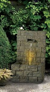 garden wall floor fountain