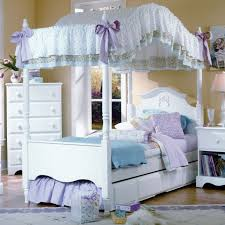 Princess Canopy Bed Furniture Works Cottage Princess Canopy Complete Bed