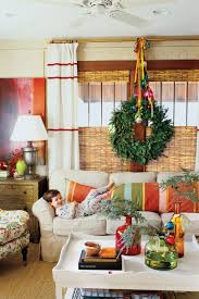 Make Christmas Decorations At Home by 100 Fresh Christmas Decorating Ideas Southern Living