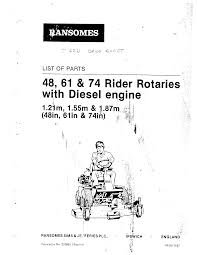 bobcat ransomes t22dv documents