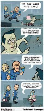 Birth Control Meme - overdosing on birth control pills funny cartoon pmslweb