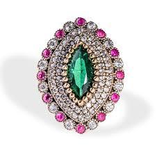 ruby emerald rings images Handmade turkish ottoman emerald ruby juniper vizir ring jpg