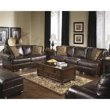 Brown Leather Living Room Set Living Room Furniture Leather Visionexchange Co