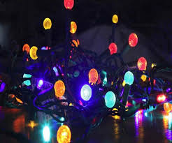 accessories led solar powered flower lights