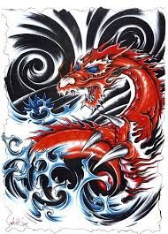 100 noble dragon tattoos to make you push your limits further