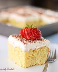 tres leches cake divinely delish
