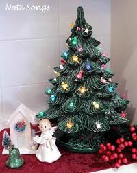 marvelous ceramic tree vintage white lights
