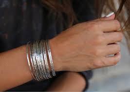 stacking bracelets handmade sterling silver stacking bracelets cuff happygolicky