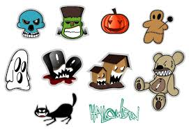 Halloween Stickers 10 Halloween Stickers Set Free Vector Site Download Free