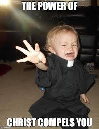 baby priest meme generator imgflip sillyness pinterest