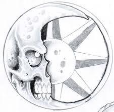 crescent moon tattoo sketch by vikingtattoo on deviantart