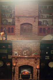 updating brick fireplace binhminh decoration
