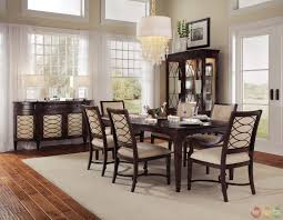 contemporary upholstered dining chairs formal dining room sets