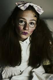 creepy doll costume creepy doll make up hair inspiration