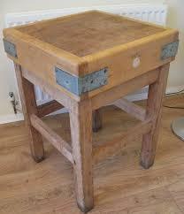 antique french butcher table antiques atlas vintage maple butchers block