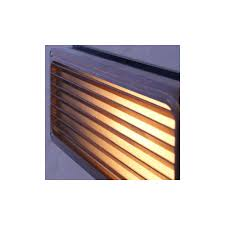 Antique Brass Outdoor Wall Lights by Brass Recessed Grill Wall Light Outdoor Lighting And Lights Uk