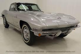 1963 corvette fuelie for sale 1963 sebring silver corvette split window coupe 327 360hp fuelie
