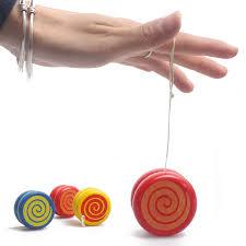 aliexpress com buy random color delivery wooden yoyo toys