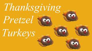 thanksgiving pretzel turkey treats daily press