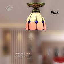 Home Decoration Light Handmade Stained Glass Mediterranean Style Home Decoration Light