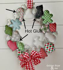 christmas cookie cutter wreath wreath tutorial cookie cutters