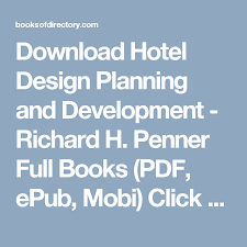 Hotel Design Planning And Development Pdf Free Download