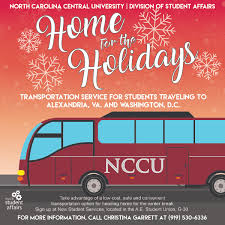 home for the holidays transportation options