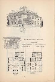 Victorian Home Plans Artistic City Houses No 43 Floor Plans Pinterest House Victorian