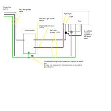 Bathroom Fan And Light by Nutone Bathroom Fan Wiring Diagram Lefuro Com