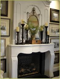 calm fireplace mantel decorating for fireplace mantel decorating