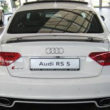 audi s5 trunk spoiler package rs5 electronic