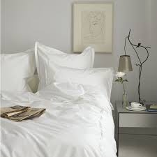 White Bedding Washington Square Plain Bed Linen Main Zoom Four New Design Ideas