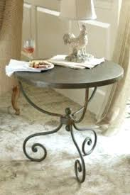 Wrought Iron Patio Side Table Side Table White Wrought Iron Patio Side Table Square Wrought