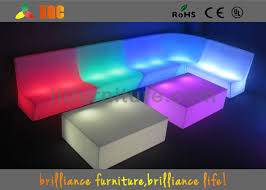 Sofa Control Control Led Sofas Rgb Light Furniture Sofa Set For Party