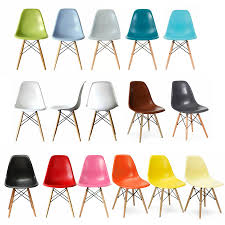 eames style chair dining rooms impressive eames style dining chairs photo eames